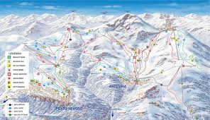 Piste Maps For Italian Ski by Prato Nevoso Ibt Travel