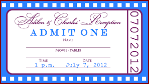 ticket template for word lease document free