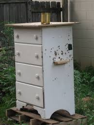 old dresser turned into a new bee hive repurpose reuse