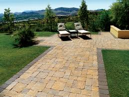 Nice Backyard Ideas by What A Beautiful Backyard Santa Barbara Blend Pavers Stone
