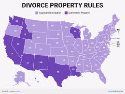 best states to get divorced in if you are much richer than your