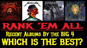 best photo album rank em all which big 4 band has the best new album