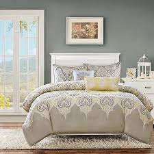 Yellow Comforter Twin Madison Park Nisha Yellow Comforter Set Twin 7903340 Hsn