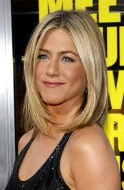want to see pictures of womens hairstyles that have a apple shape body over 60 with a perm jennifer aniston medium straight cut jennifer aniston jennifer