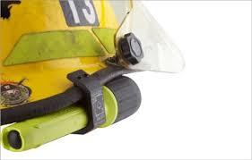 streamlight firefighter helmet light bj002 6061 aluminum firefighter helmet flashlight holder for