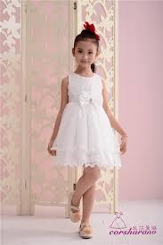 dress anak flower girl wedding dresses kids princess lace dress for