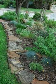 Landscaping Ideas For Backyard by Best 25 Rock Edging Ideas On Pinterest Landscaping Ideas