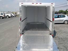 V Nose Enclosed Trailer Cabinets by Homesteader 7 X 14 V Nose Enclosed Motorcycle Trailer Custom