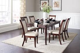 cornett dark brown dining room set from coaster coleman furniture