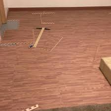 Floor Tile Reviews How To Install Tilebriarwood Mocha Faux Wood Floor Tile Reviews