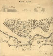 1783 Map Of The United States by Fort Putnam Starforts Com