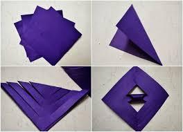 membuat hiasan bunga dari kertas lipat cara membuat bunga kertas 3 dimensi ragam kerajinan tangan