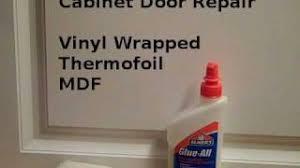 best glue for cabinet repair repair vinyl cabinet door edges