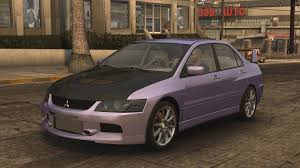 car mitsubishi evo mitsubishi lancer evolution midnight club wiki fandom powered