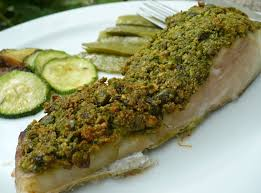 cuisiner le lieu jaune recette de lieu jaune en croûte verte la recette facile