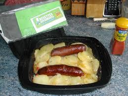 comment cuisiner la saucisse de morteau saucisse de morteau et ses pommes de terre en papillotte
