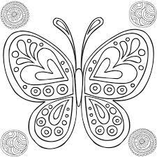Mandalas Papillon 8 Mandalas  Coloriages à imprimer