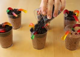 Best 25 Pudding Cups Ideas On Pinterest Dirt Pudding Cups Oreo by Dirt Pudding Cups With Gummy Worms Recipe Oh Nuts Blog