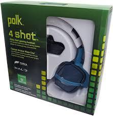 best black friday deals for xbox one headset amazon com polk audio 4shot headphone black xbox one video games