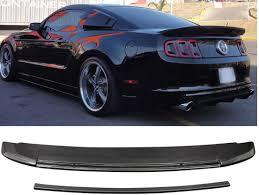 2010 mustang spoiler 2010 2014 mustang gt500 type rear spoiler wing gt500 carbon