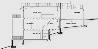 hillside house plans for sloping lots house front color elevation view for d 457 duplex house plans
