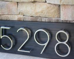 house number sign etsy