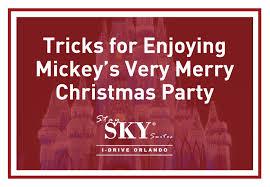 tips enjoying mickey u0027s merry christmas party staysky