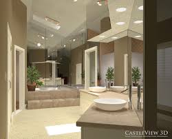 master bath remodel cabinet design software modern bathrooms bath architectural renderings from castleview3d com 80s mauve bathroom remodel internal decoration of house