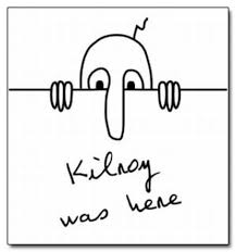 Pointing Meme Face - kilroy was here know your meme