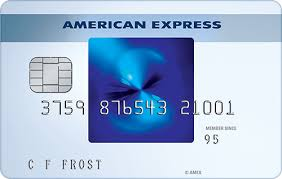 blue from american express earn rewards points