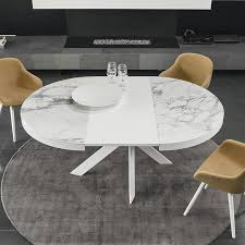 ceramic top dining room tables calligaris tivoli round extending dining table ceramic top