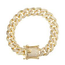 cuban link bracelet images 12mm iced cuban link bracelet spicyice jpg