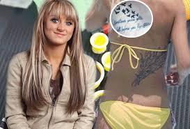 teen moms with tats see the mtv reality stars u0027 wild ink radar