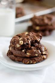 double chocolate cake mix cookies recipe pinch of yum