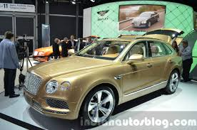 bentley bentayga engine bentley bentayga 2015 frankfurt live