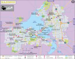 wisconsin map usa map map of capital of wisconsin