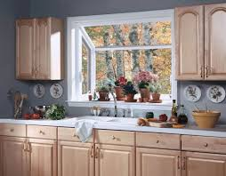 Window Treatments For Kitchens Inspiration Of Kitchen With Wood Oak Kitchen Cabinet Combained