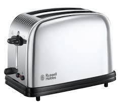 Two Slice Toaster Reviews Buy Russell Hobbs 23310 Classic 2 Slice Toaster St Steel At