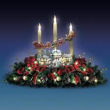 thomas kinkade lighted pictures thomas kinkade lighted life like floral village christmas holiday