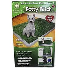 amazon com fresh patch disposable dog potty with real grass as