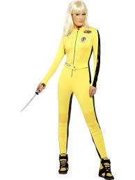 bruce yellow jumpsuit kill bill costume bruce jumpsuit fancy
