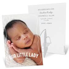 birth announcements classic birth announcements custom designs from pear tree
