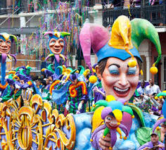 mardi gra floats bring new orleans to you with a mardi gras party