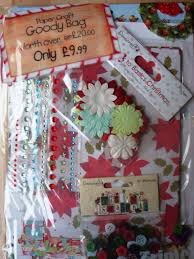 dovecraft christmas craft pack buttons blossoms gems decoupage