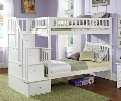 Bedroom Furniture Beds Columbia Staircase Bunk Bed White Bedroom Furniture Beds