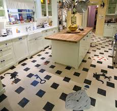 linoleum kitchen contemporary kitchen los