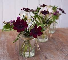 wedding flowers jam jars best 25 jam jar flowers ideas on jam jar wedding