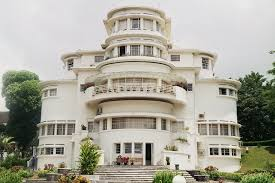 Dutch Colonial House Style Wedding Cake Art Deco Villa Isola Bandung Photo By Peter Van