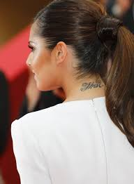 Cheryl Cole Back Lettering On Cheryl Cole Back Neck