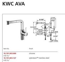 kwc kitchen faucet kwc 10 191 003 127 single lever mixer kitchen faucet